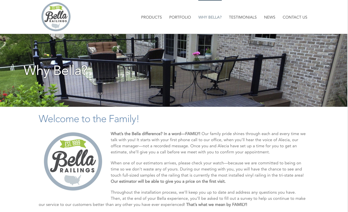 Bella Railings